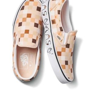 Vans breast cancer awareness shoes